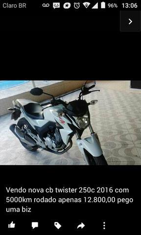 CB twister 250 moto nova ano  - Motos - Araruama, Rio de Janeiro | OLX
