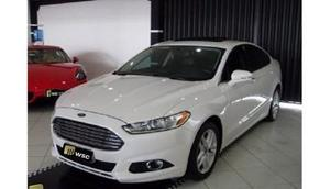 Ford Fusion Sel v 173cv Aut.  Branco Flex