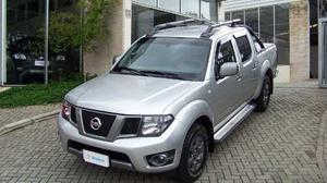 Nissan Frontier Sv Attack Cd 4x4 2.5 Tb Diesel  Prata