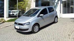 Volkswagen Fox Bluemotion 1.0 Msi (flex)  Prata Flex
