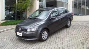Volkswagen Voyage 1.6 Mi Total Flex 8v 4p  Cinza