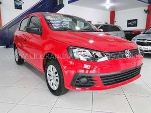 Volkswagen Gol 1.0 Trend/ Power 8v 4p  Vermelha Gnv