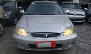 Honda Civic 1.6 Completo + GNV R de entrada -  - Carros - Campo Grande, Rio de Janeiro   OLX