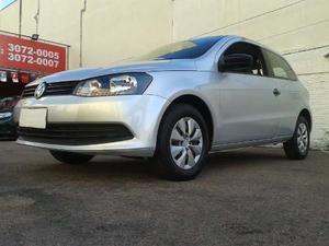 Volkswagen Gol (novo) 1.0 Mi Total Flex 8v 2p  Prata