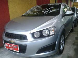 CHEVROLET SONIC HATCH LT V FLEX - PRATA -