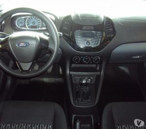 Ford Novo KA+ 1.5 SE  flex completo abs airbag preto