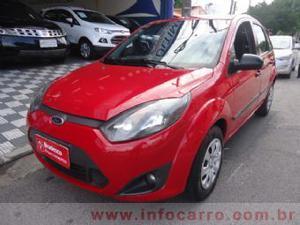 Ford Fiesta Hatch 1.0 Flex P Vermelho Flex