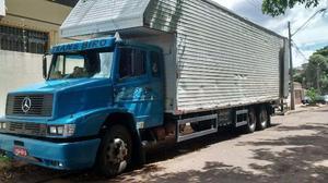 Bicuda cabinada com baú 10 metros - Caminhões, ônibus e vans - Tomás Coelho, Rio de Janeiro | OLX