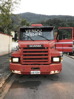 Scania vermelho 112 HW x2 ano  - Caminhões, ônibus e vans - Vila Paraíso, Itaguaí | OLX