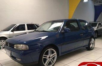 Volkswagen Gol 1.6 CLI P Azul Gasolina