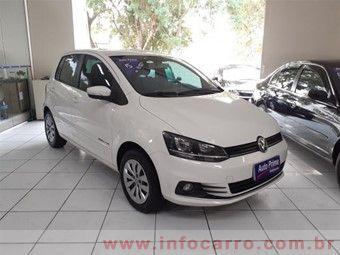 Volkswagen Fox COMFORTLINE 1.6 FLEX 8V 5P P Branco